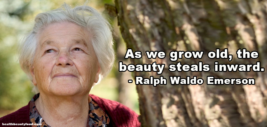 Beauty Quote As we grow old, the beauty steals inward