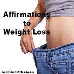 Affirmations to Weight Loss
