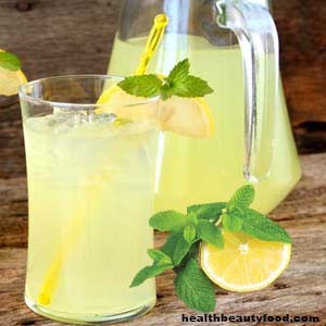 Exotic Refreshing Indian Summer Drinks Pudina Nimbu Pani